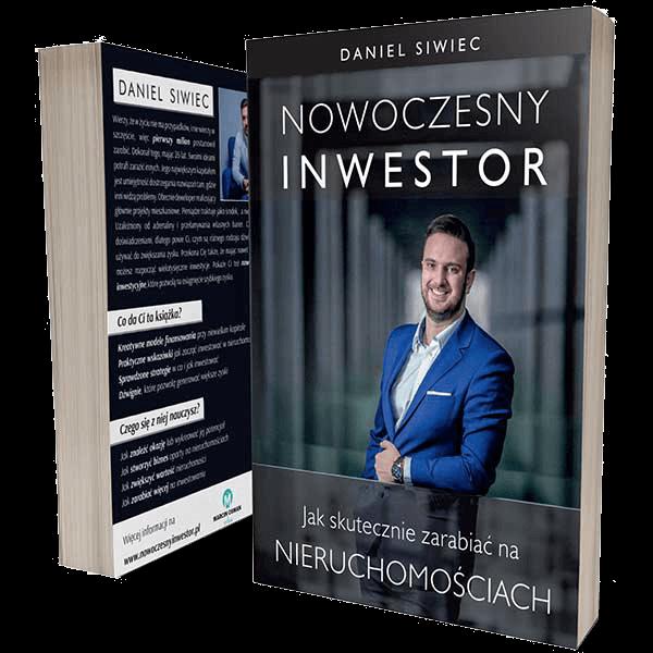 Nowoczesny Inwestor – Daniel Siwiec – książka drukowana