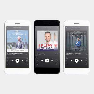 Pakiet Audiobooków MP3 - Nowoczesny Inwestor, Nowoczesny Deweloper, Flipy od Zera - Daniel Siwiec
