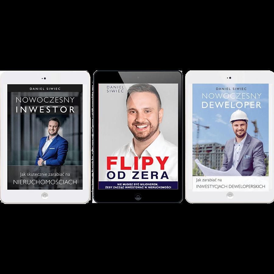 Pakiet ebooków – Flipy od Zera + Nowoczesny Inwestor + Nowoczesny Deweloper ebook
