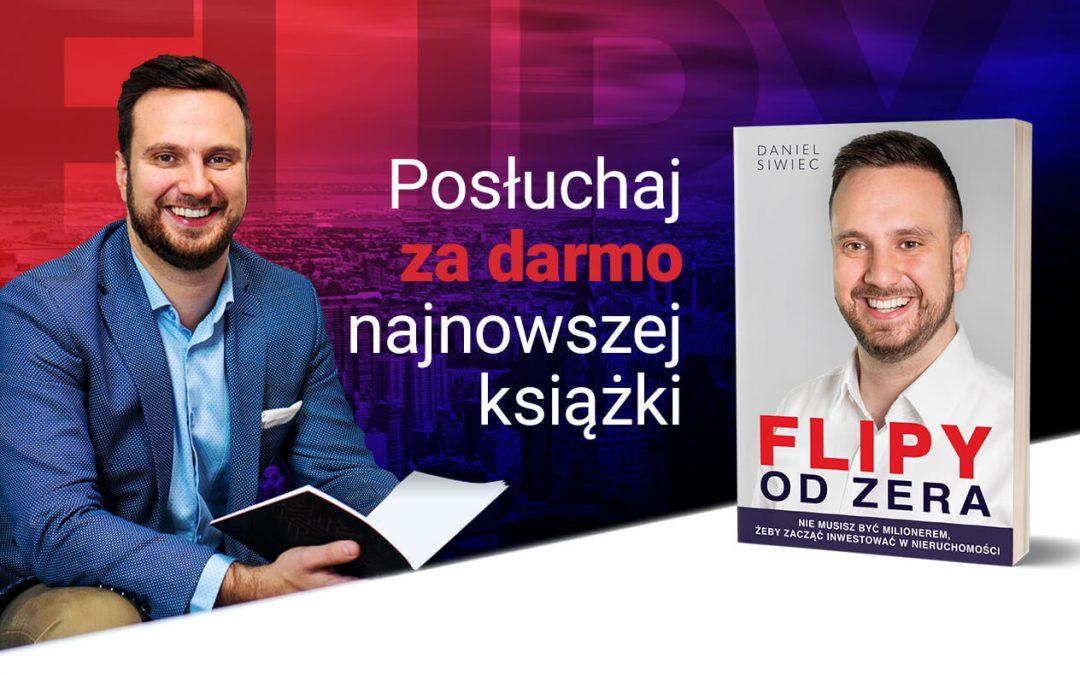 """Darmowy Audiobook """"Flipy od zera"""""""