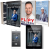 Pakiet- Książka+Audiobook MP3+Ebook Nowoczesny Inwestor + książka Flipy Od Zera + książka Nowoczesny Deweloper