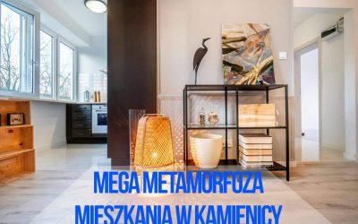 Mega metamorfoza mieszkania w kamienicy