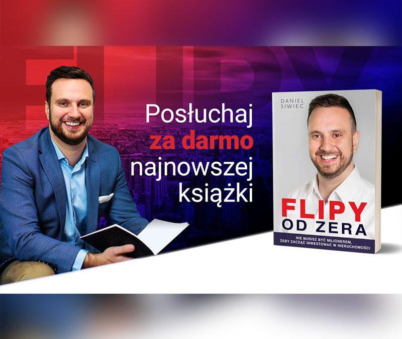 """Darmowy Audiobook """"Flipy od zera"""" – podcast"""