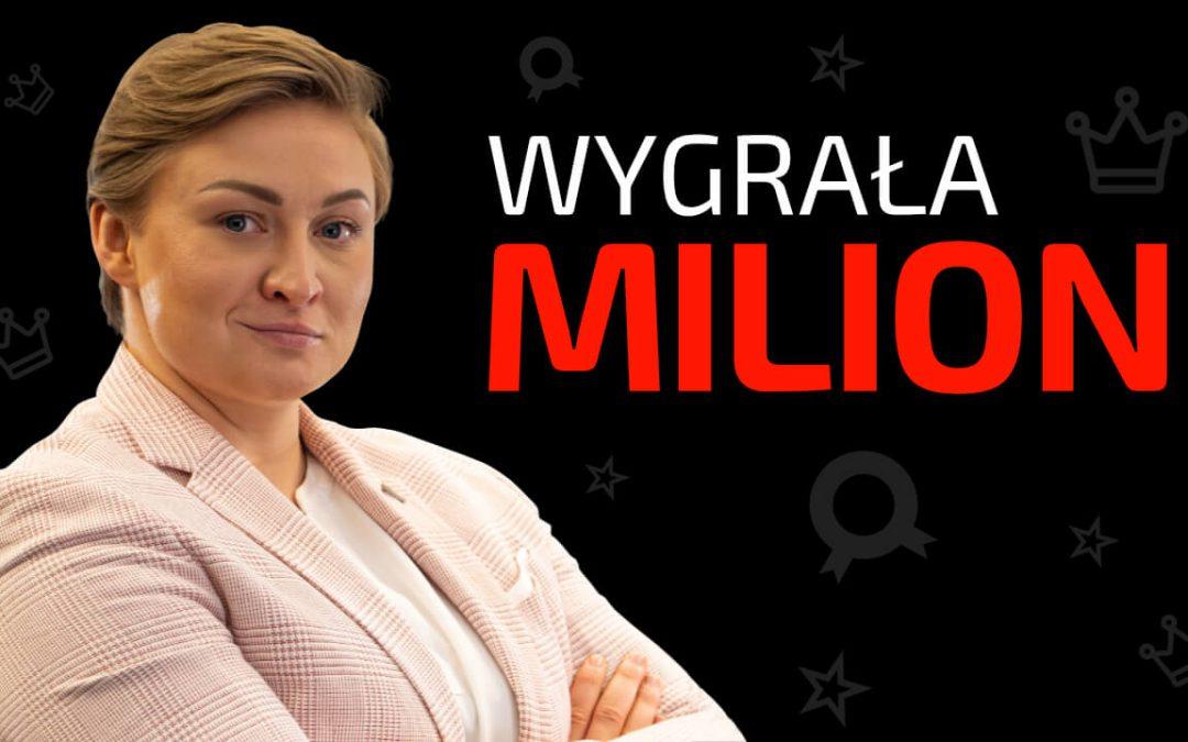 WYGRAŁA MILION