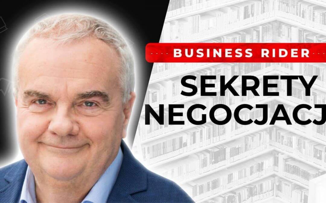 JAK PIEKIELNIE SKUTECZNIE NEGOCJOWAĆ? Alex Barszczewski Business Rider